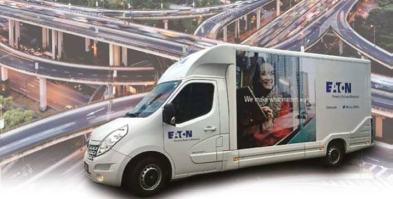 Eaton truck in Imat Felco